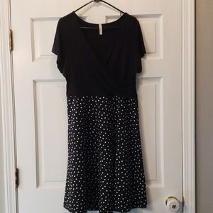 Gilli brand dress from modcloth 1x black